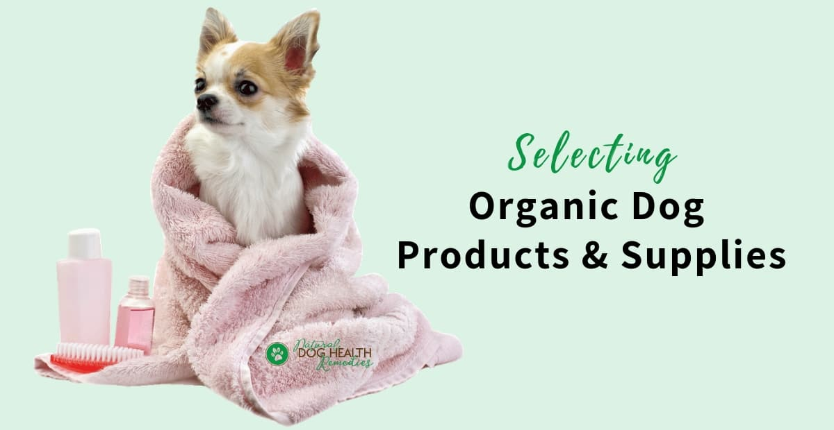 Organic Dog Products