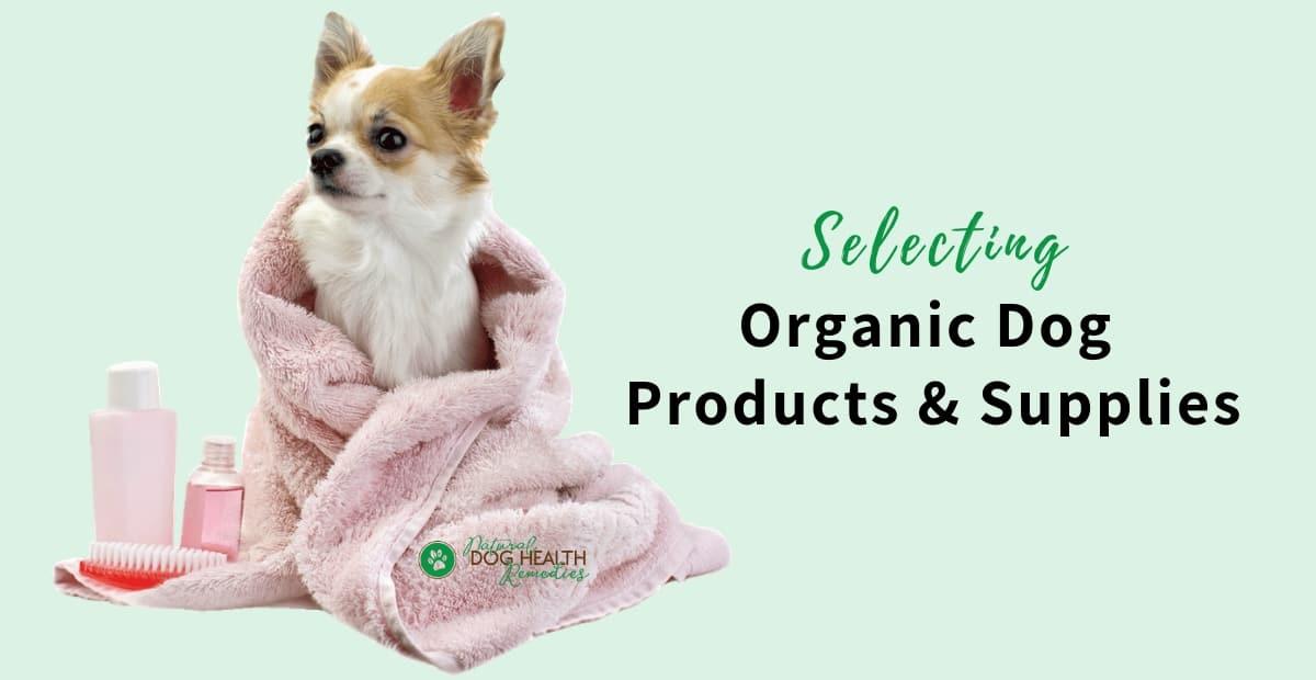 Organic Dog Products
